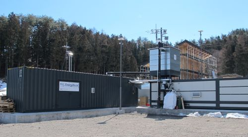 Commune kawaba and forest community gunma operates energyblock from spanner Re²