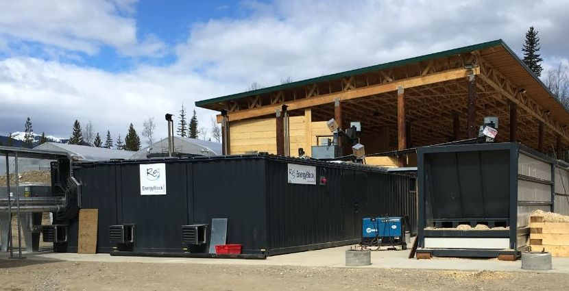 First Nations in Kwadacha operate Biomass CHP power plant with wood chips