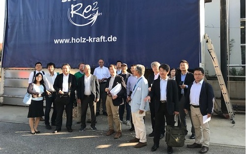Delegation from Japan visits wood gas experts Spanner Re² in Germany