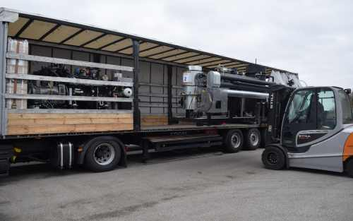 Delivery of 7 wood gasifiers & CHP units to East Europe