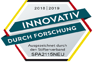 """Innovation through research"" seal in 2018 for Spanner Re²"