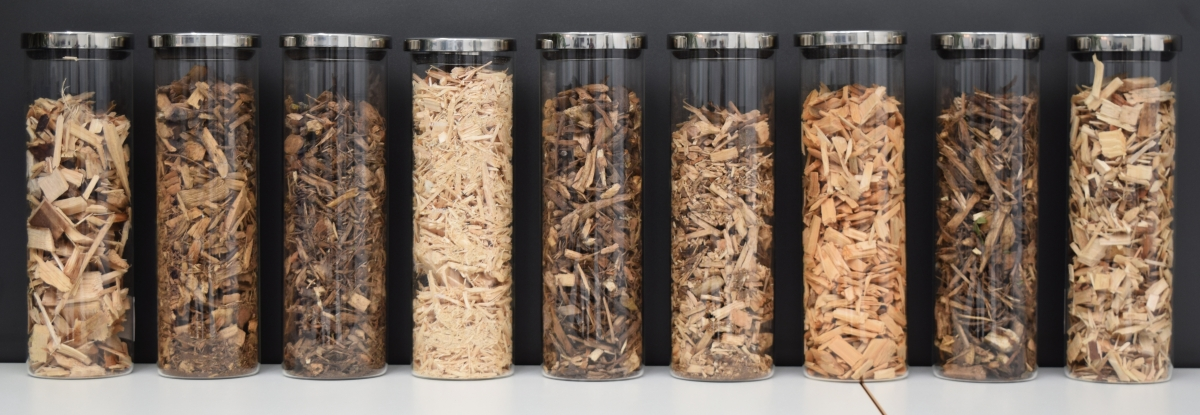 wood chips for biomass gasification