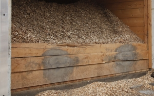 wood for biomass gasification